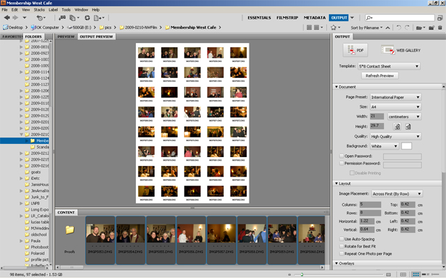 Use Adobe Bridge to Quickly (and Easily!) Make Contact Sheets iD - sample contact sheet