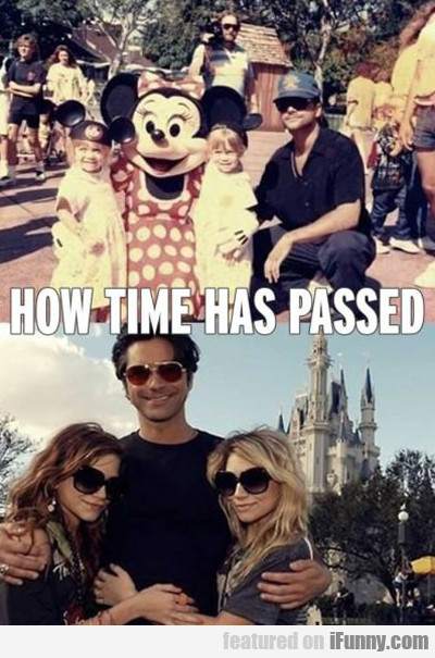 How Time Has Passed...