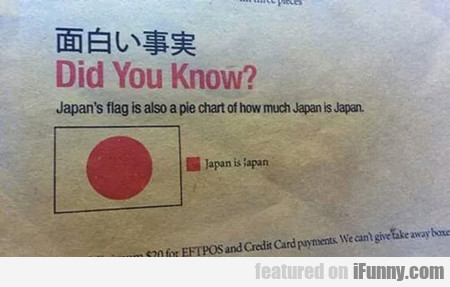 Did You Know? Japan's Flag...