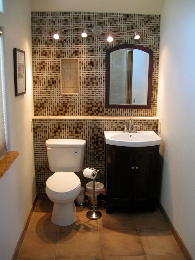 Exellent Small Bathrooms Color Ideas And Paint With Decor - small bathroom paint ideas