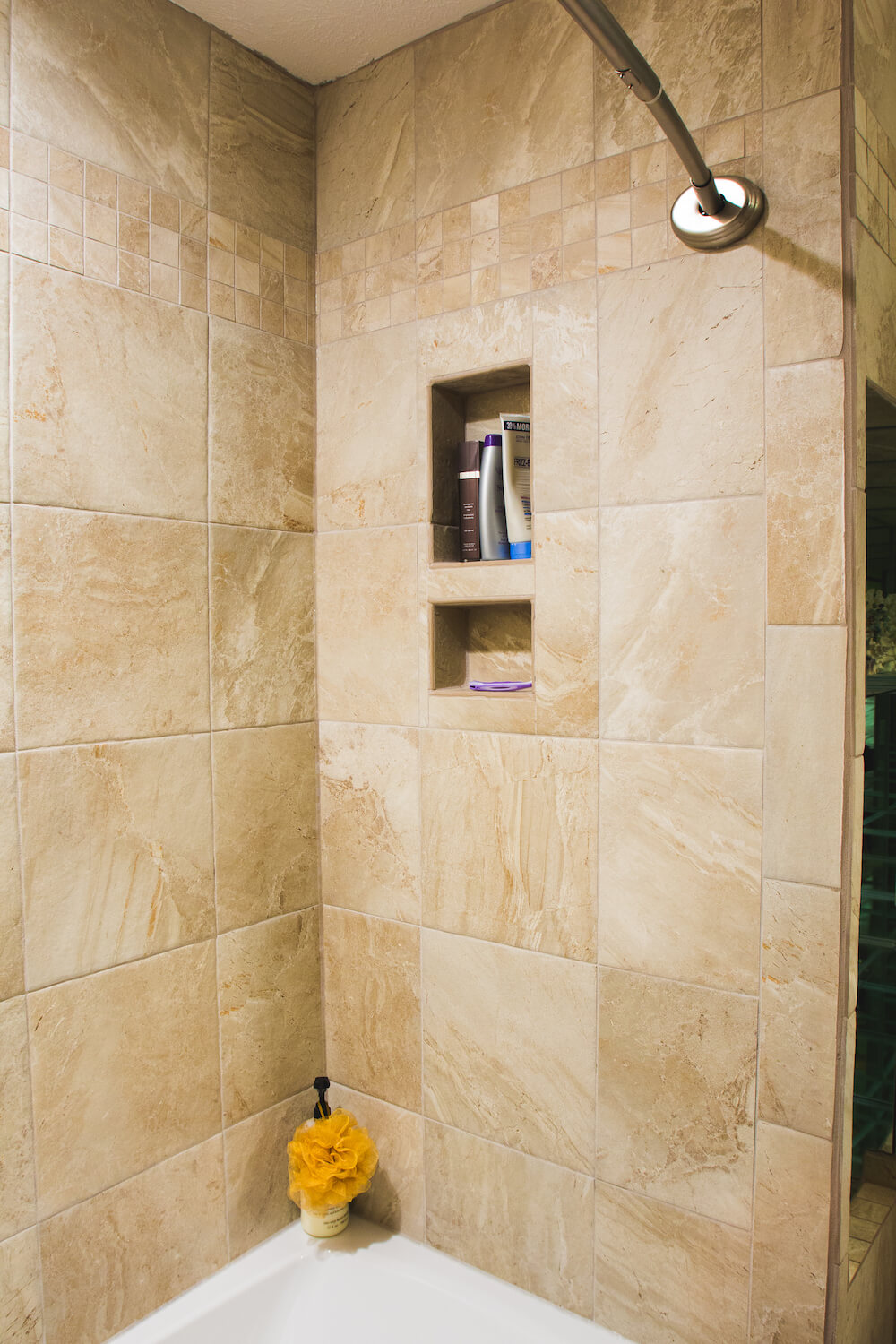 When to regrout shower