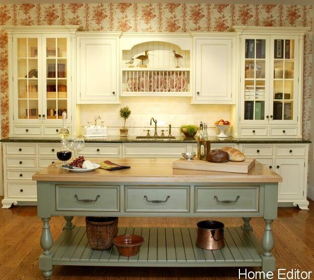 affordable ways create shabby chic kitchen stephanie wohlner tags kitchen design kitchen cabinet comment