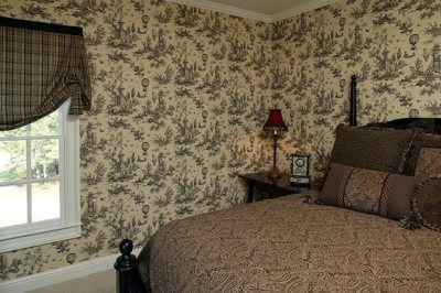 Wallpaper Wall Coverings | How to Wallpaper over Wood Paneling