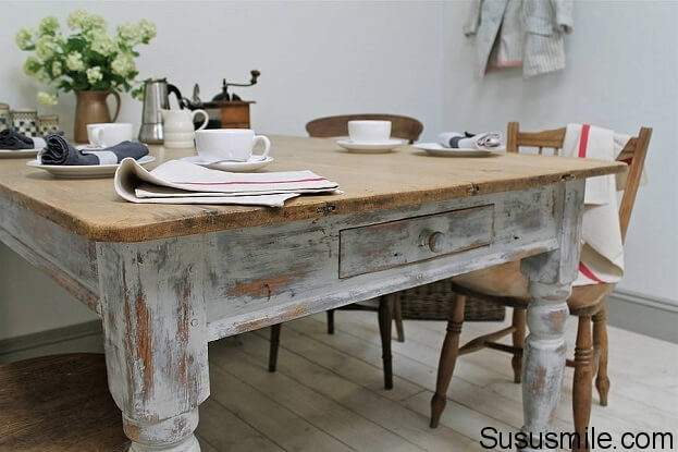 6 Affordable Ways To Create A Shabby Chic Kitchen