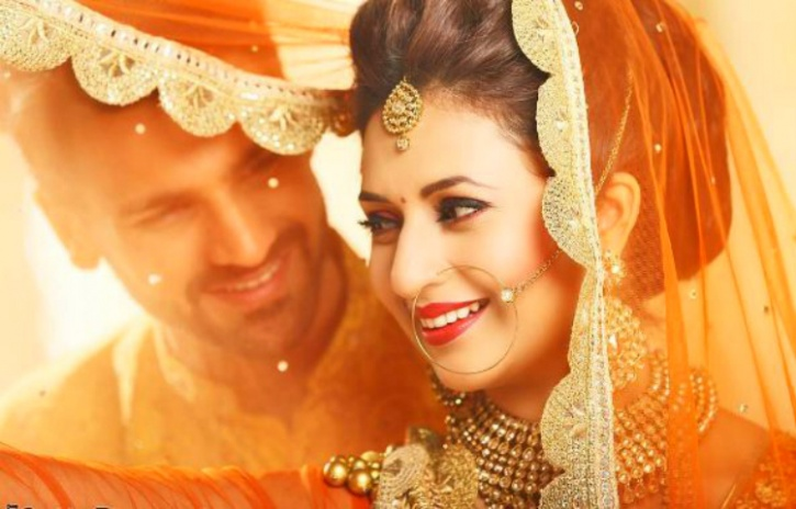 Cute Punjabi Married Couple Wallpaper Divyanka Tripathi And Vivek Dahiya S Wedding Pictures Are