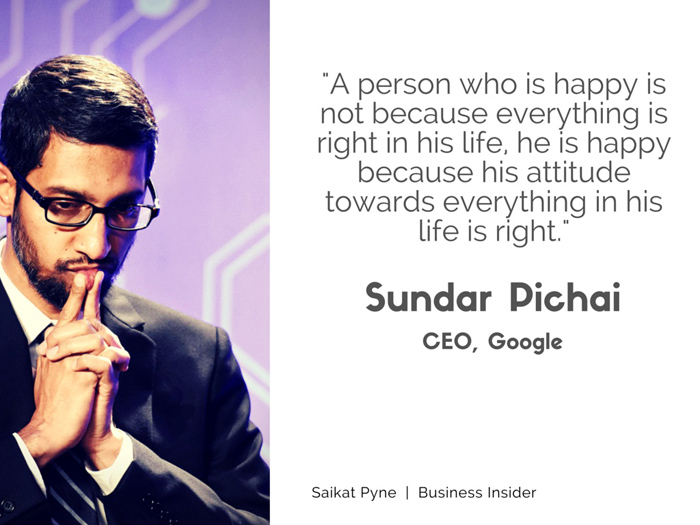 Attitude Quotes Hd Wallpapers For Pc Leadership Lessons From Google Ceo Sundar Pichai Will Go A