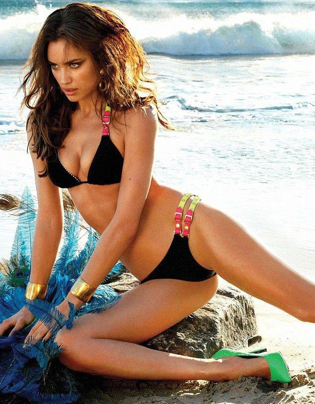 Beautiful Girl Wallpaper Brunette Hot Bikini Babe Irina Shayk Indiatimes Com