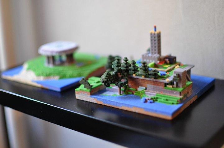 Minecraft 3D prints image - Indie DB