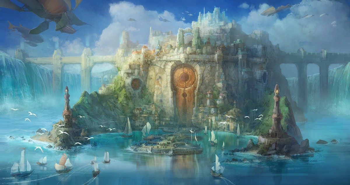 Disney World Fall Wallpaper Concept Art For The Magical Kingdom Vallia Image Moar