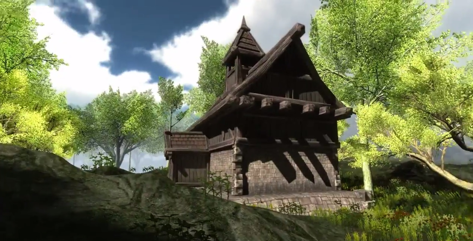 Houses In The Forest Concept House In Forest Image Surviverl Indie Db
