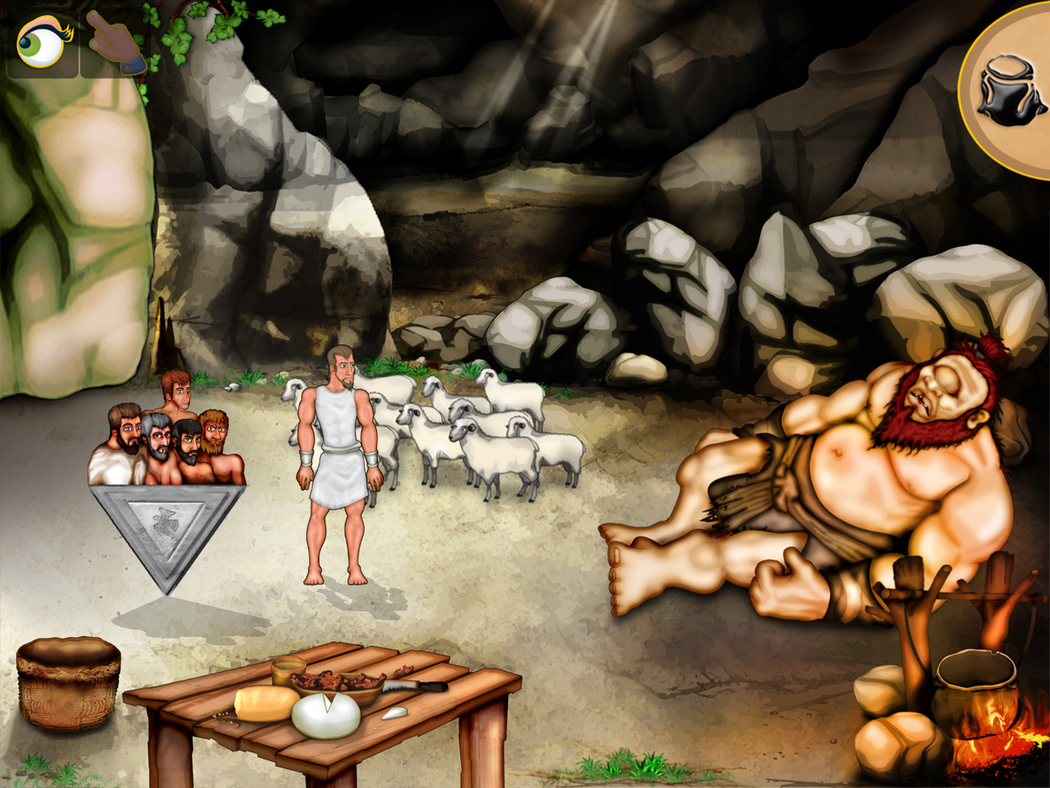 The Fall Of Troy Wallpaper In The Cyclops Cave Image The Odyssey Hd Indie Db