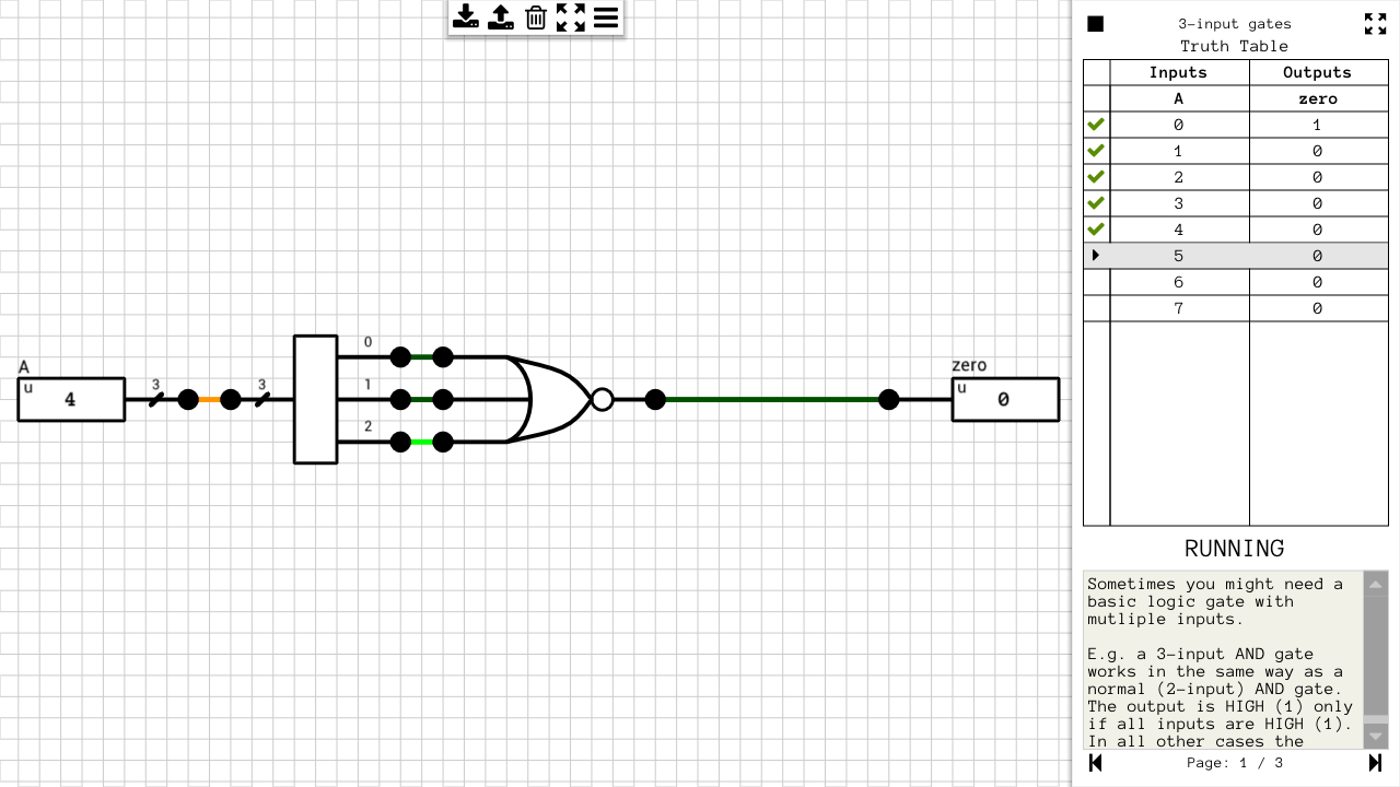 here are the truth tables for the logic gate diagrams