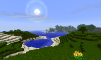 My screenshots from my new Minecraft world image