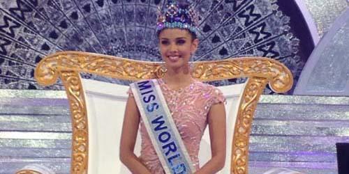 Gagal Ikut Miss Universe Megan Young Raih Mahkota World 2013 - 500 x 250 jpeg 49kB