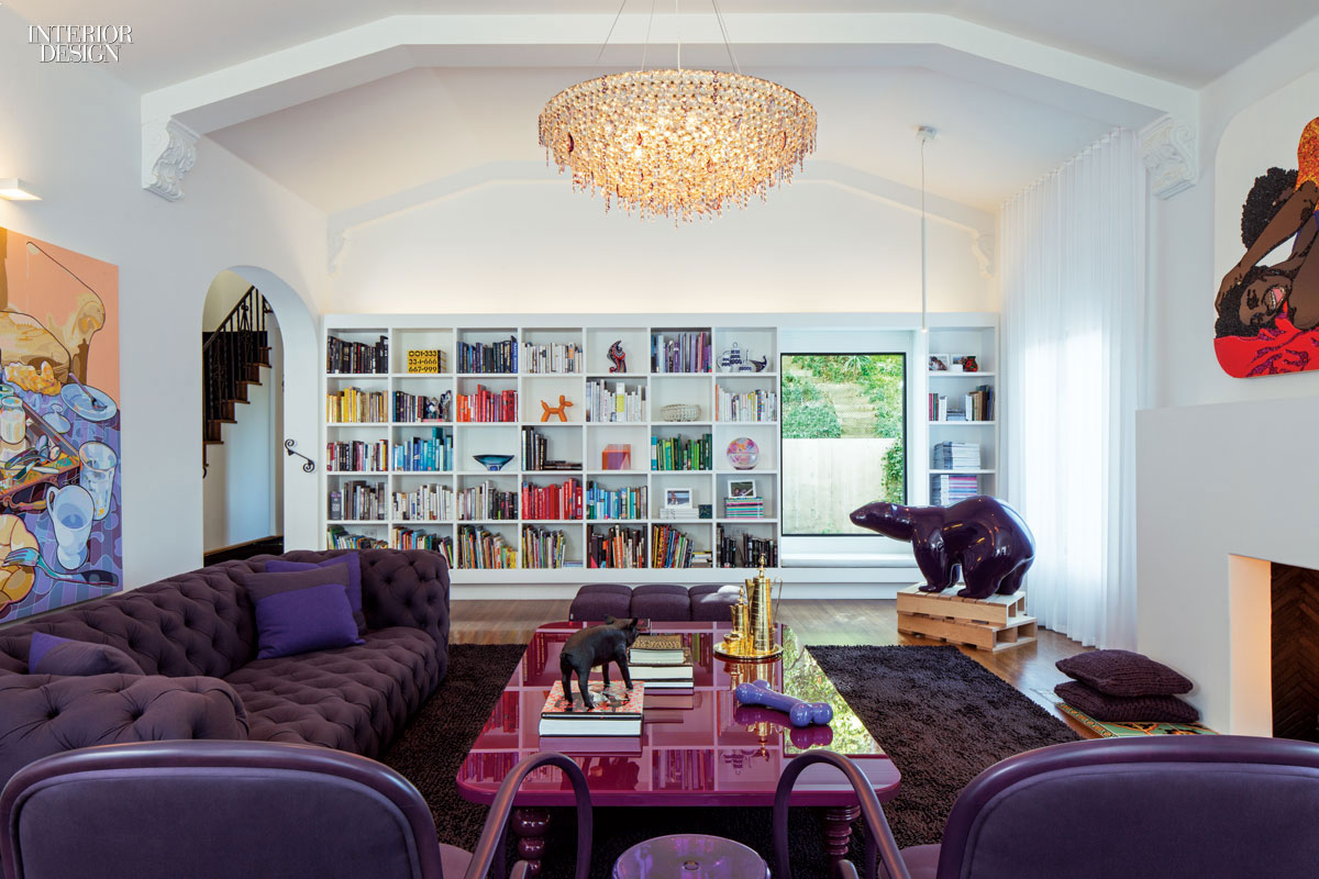 Interior Designer Los Angeles Opposites Attract Chet Callahan Teams With Ghislaine Viñas
