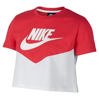Nike Windrunner Intersport T Shirt Manches Courtes Femme Sportswear Heritage Nike