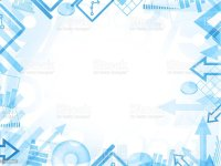 Abstract Statistics Blue Background Frame Border Stock ...