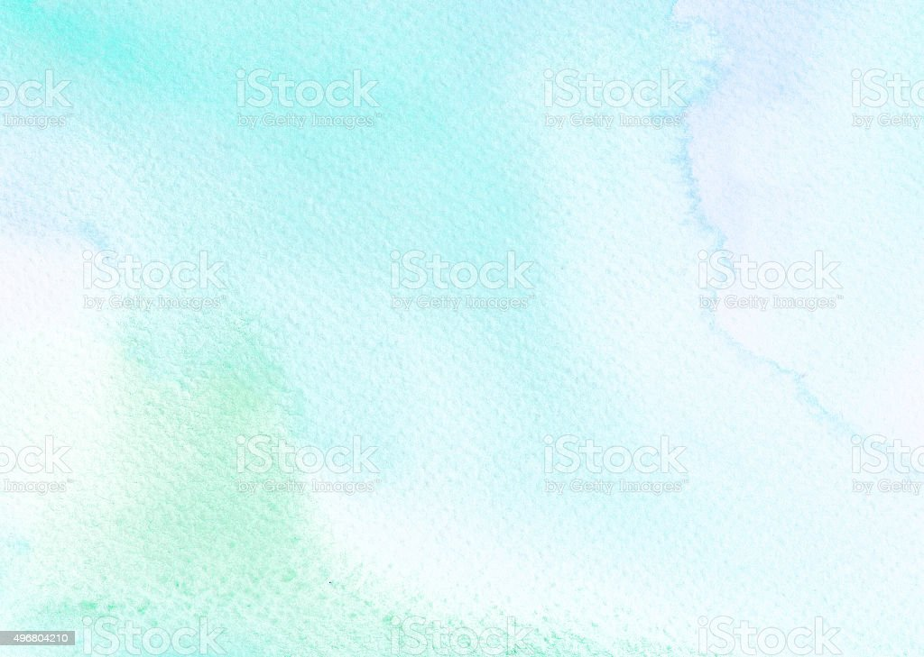 Cute Wallpapers Green Mint Light Green Tones Watercolor Background Stock Vector Art