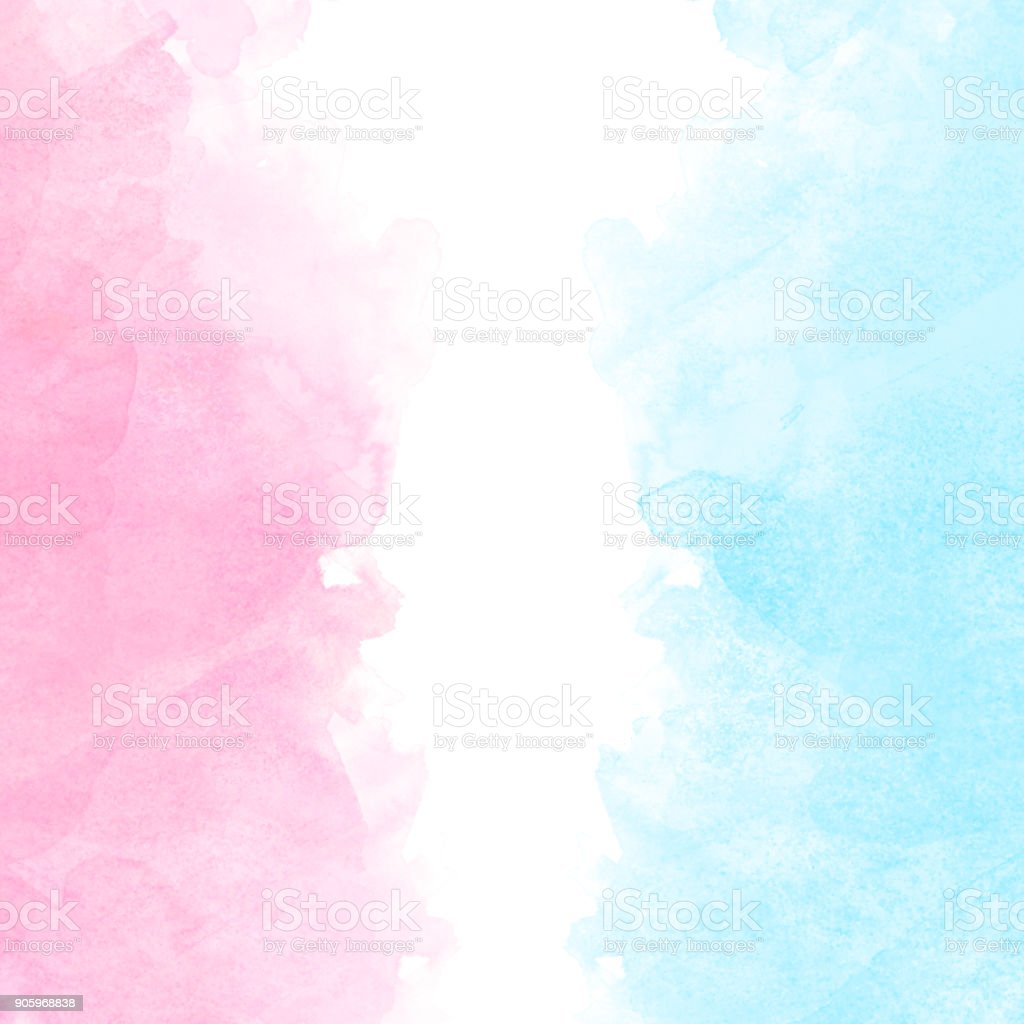 Colored Water Brush Abstract Colorful Watercolor Painting Background Colorful Brush
