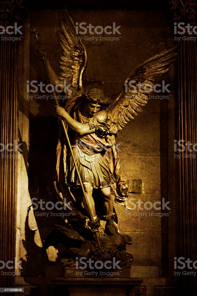 Black White Square Wallpaper Royalty Free Archangel Michael Pictures Images And Stock