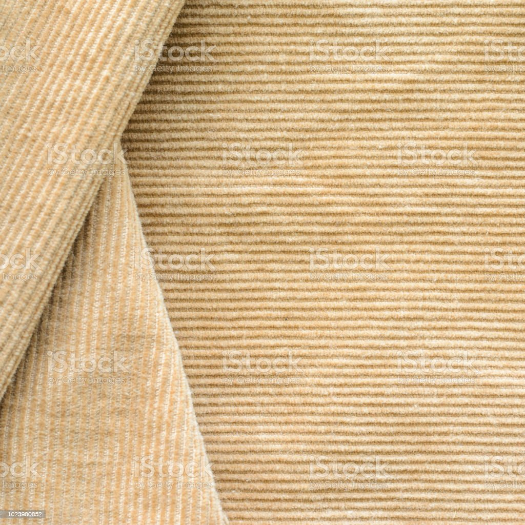 Beige Corduroy Clothes Blank Background Stock Photo Download Image Now Istock