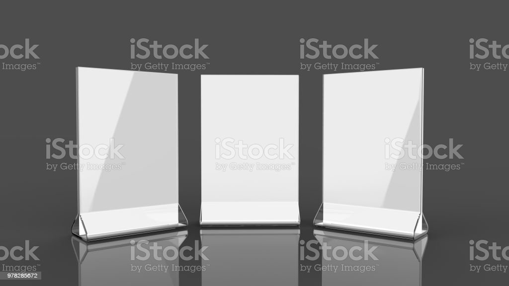 Royalty Free Blank Table Tent Pictures Images And Stock