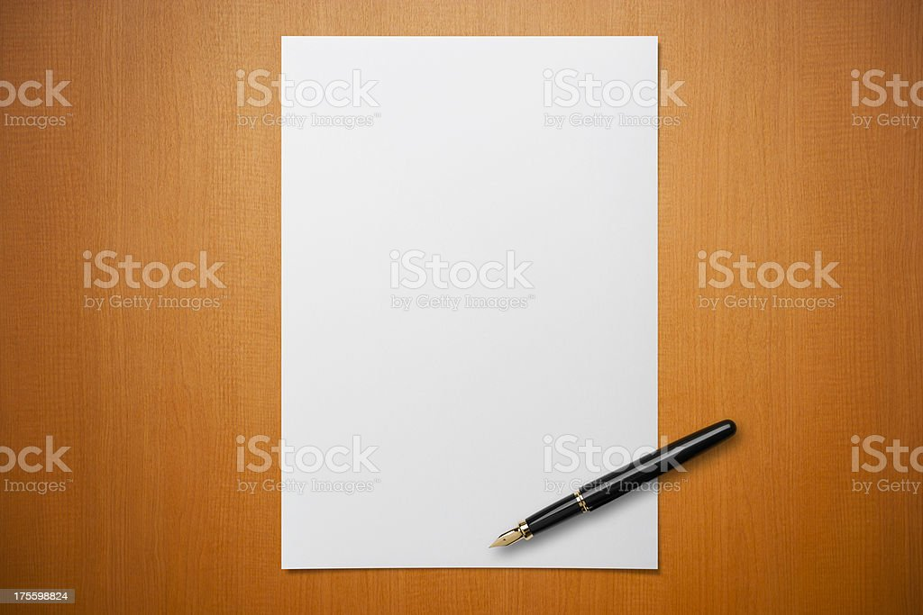 Royalty Free Blank Sheet Of Paper Pictures Images And