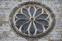 Circular Church Window Stock Photo & More Pictures of