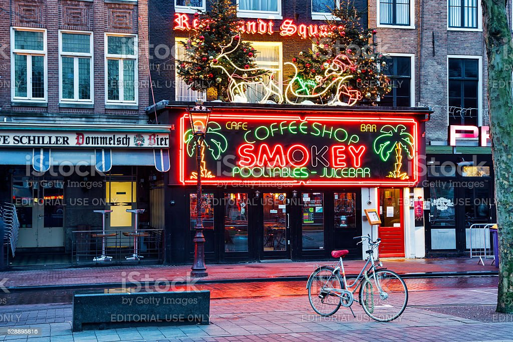 Coffeeshop Smokey Cannabis Coffee Shop In Amsterdam Stock Photo Download Image Now Istock - I Store Amsterdam