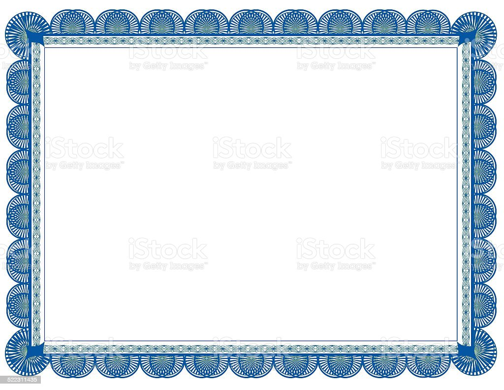 Molduras Decorativas Cyan And Green Two Toned Document Frame Suitable For