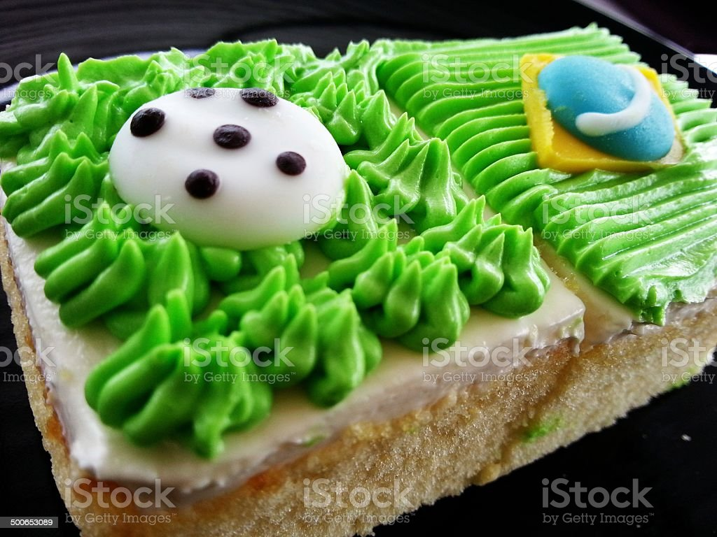 Football Kuchen Football Cake Stock Photo More Pictures Of Bakery Istock