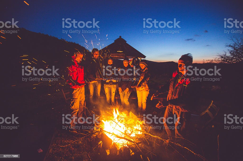 Royalty Free Campfire Pictures Images And Stock Photos
