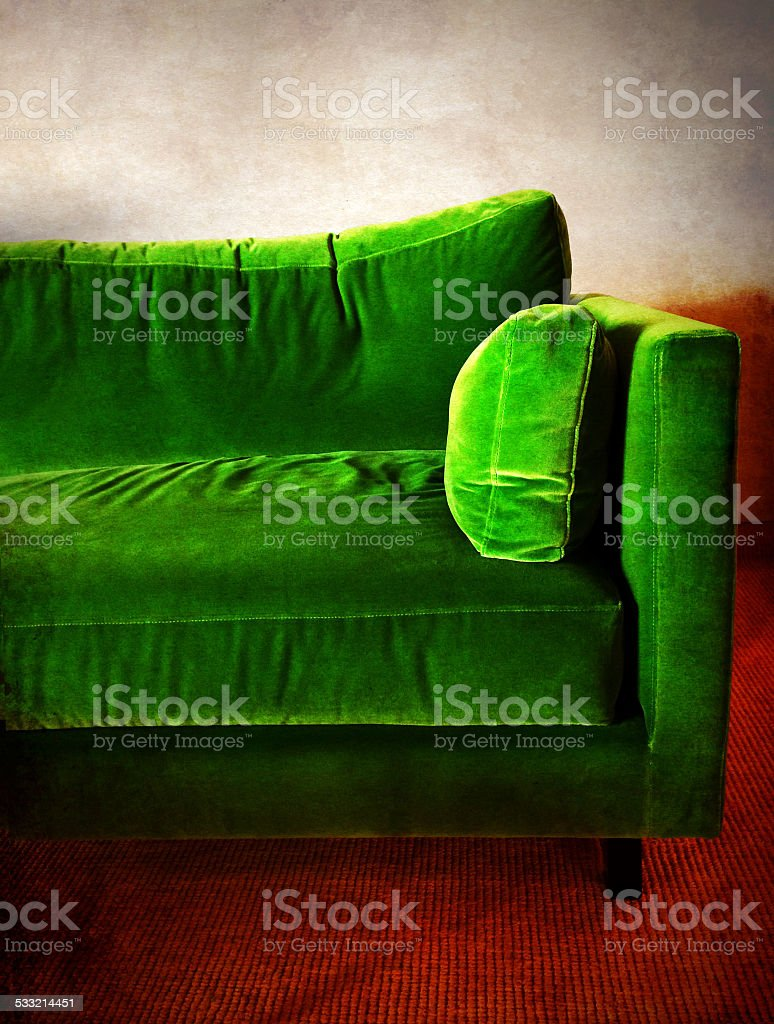 Retro Inflatable Sofa Green Retro Sofa In A Room Stock Photo More Pictures Of 2015