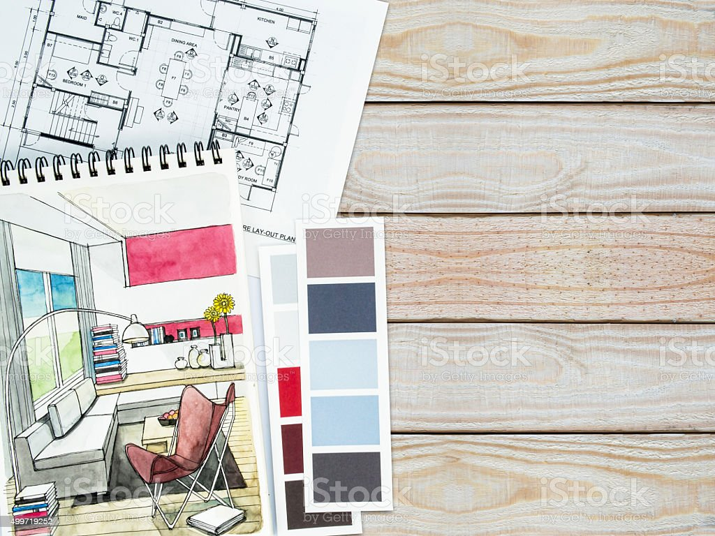Renovation Decoration Home Decoration Renovation Concept Background And Texture Stock