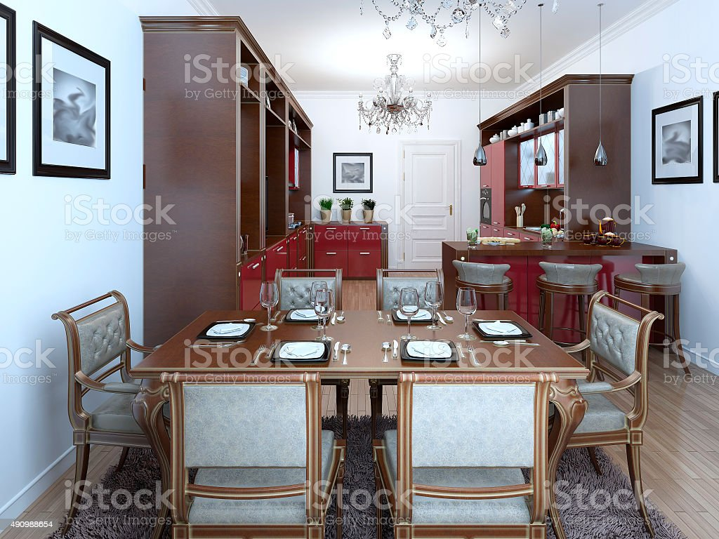 Art Deco Design Cuisine Kitchen In The Art Deco Style Stock Photo More Pictures Of 2015