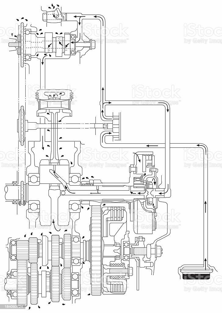 atv Schema moteur