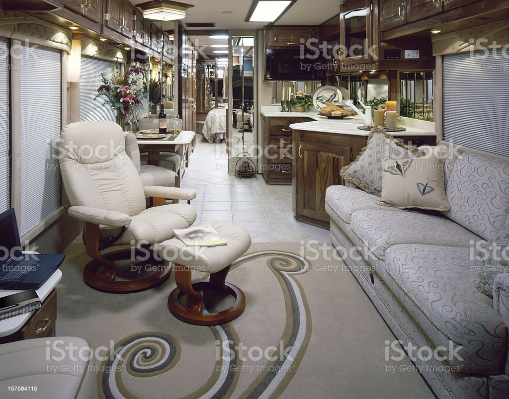 Decoration Interieur D'un Camping Car Inteior Luxe De Campingcar Photos Et Plus D Images De