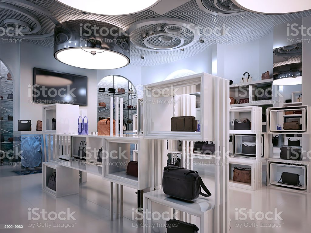 Deco Store Luxury Store Interior Design Art Deco Style With Hints