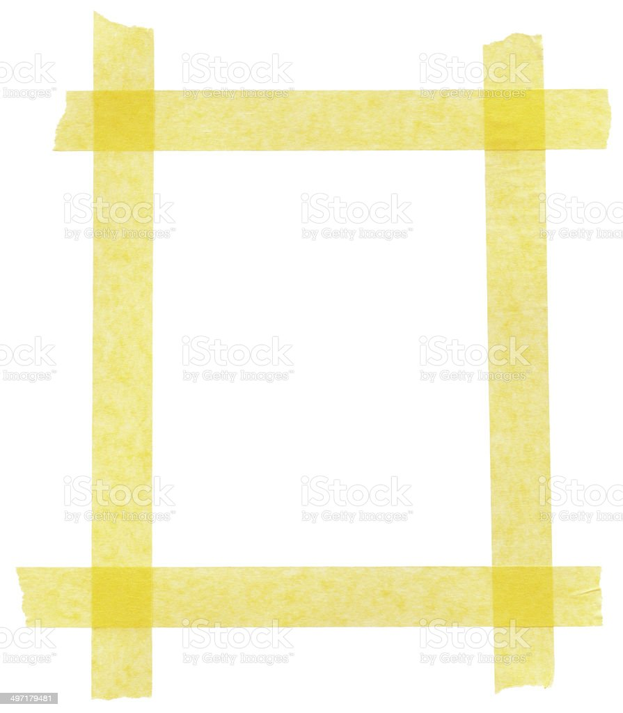 Xxxl Poster Xxxl Masking Tape Frame Stock Photo More Pictures Of Adhesive
