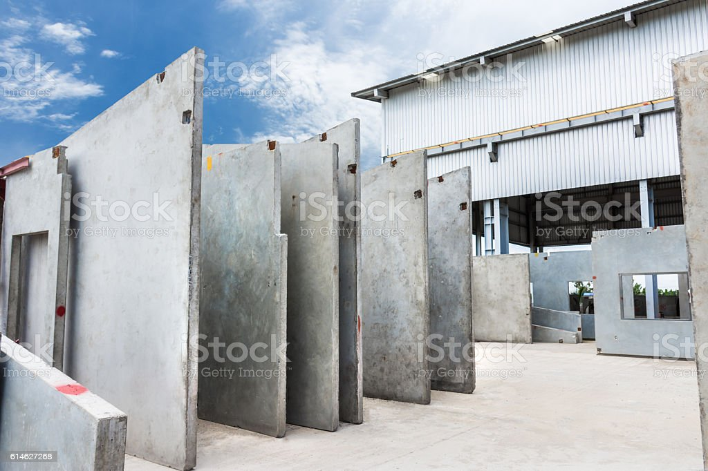 Precast Concrete Wall Panel Stock Photo More Pictures Of