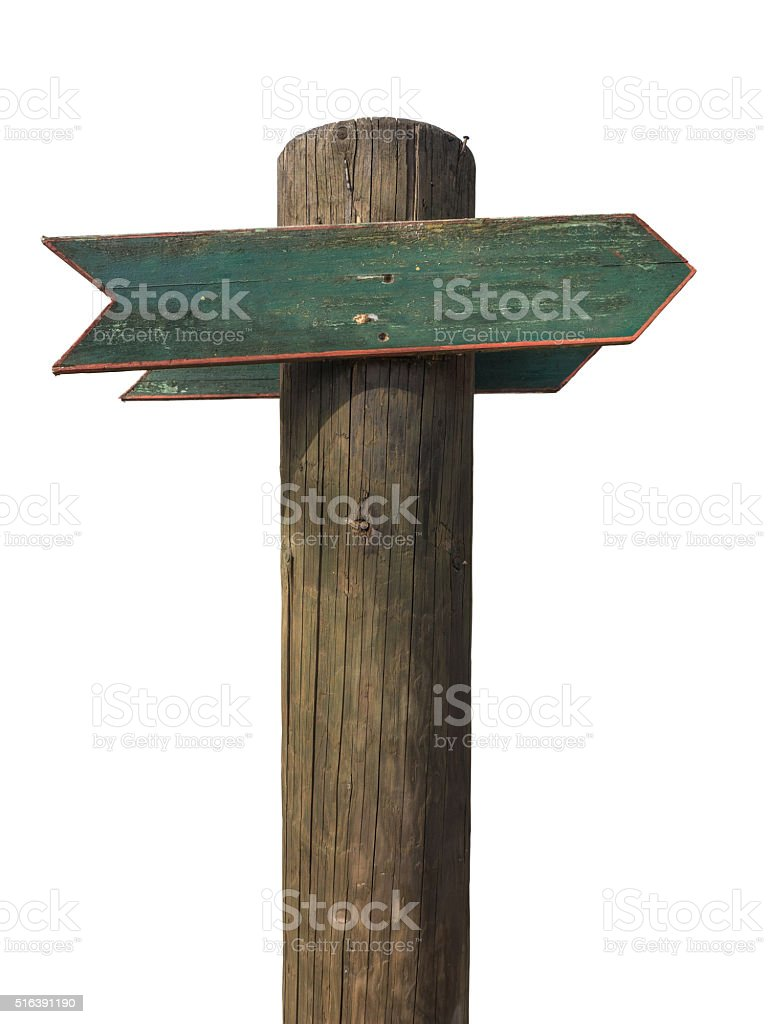 Rustic Isolated Blank Wooden Sign Stock Photo Download Image Now Istock