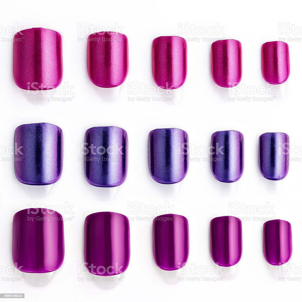 Faux Ongles Photo Libre De Droit De Ensemble De Multicolores Faux Ongles Banque D Images Et Plus D Images Libres De Droit De Top Keyword