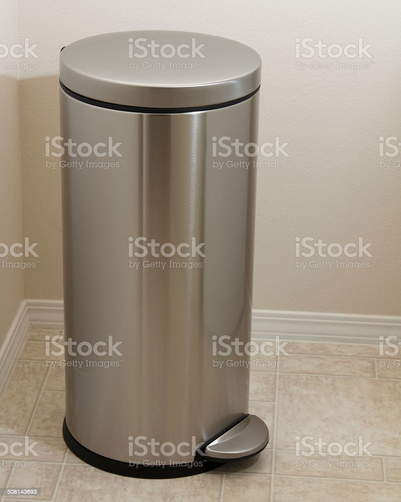 Metal Wash Bin Stainless Steel Laundry Bin Stock Photo More Pictures Of Bottle