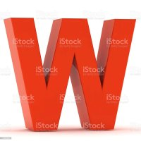 Letter W Pictures, Images and Stock Photos - iStock