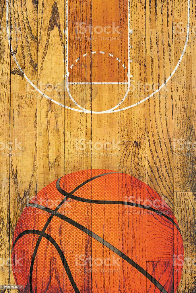 Stock Photo Free For Commercial Use Vintage Basketball Hardwood Floor Background Stock Photo