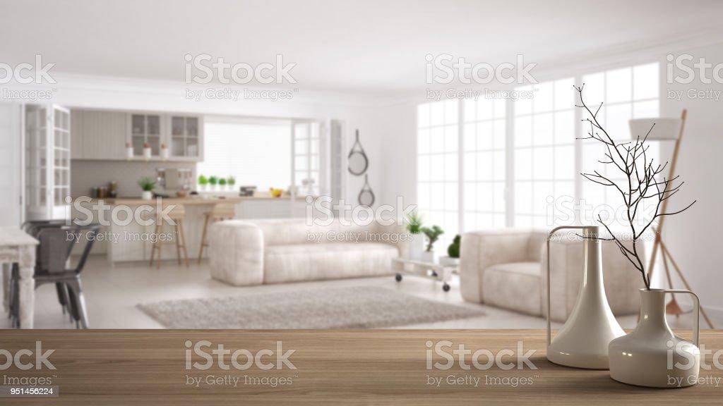 Royalty Free Defocus Background Living Room In Modern