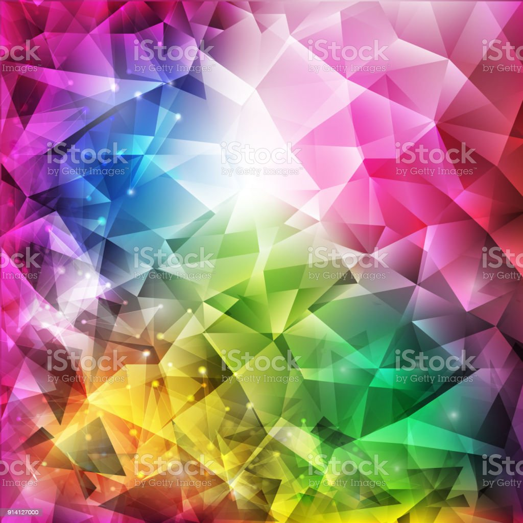 Raumgestaltung Farbe Abstract Geometric Full Color With Space Modern Design On Background