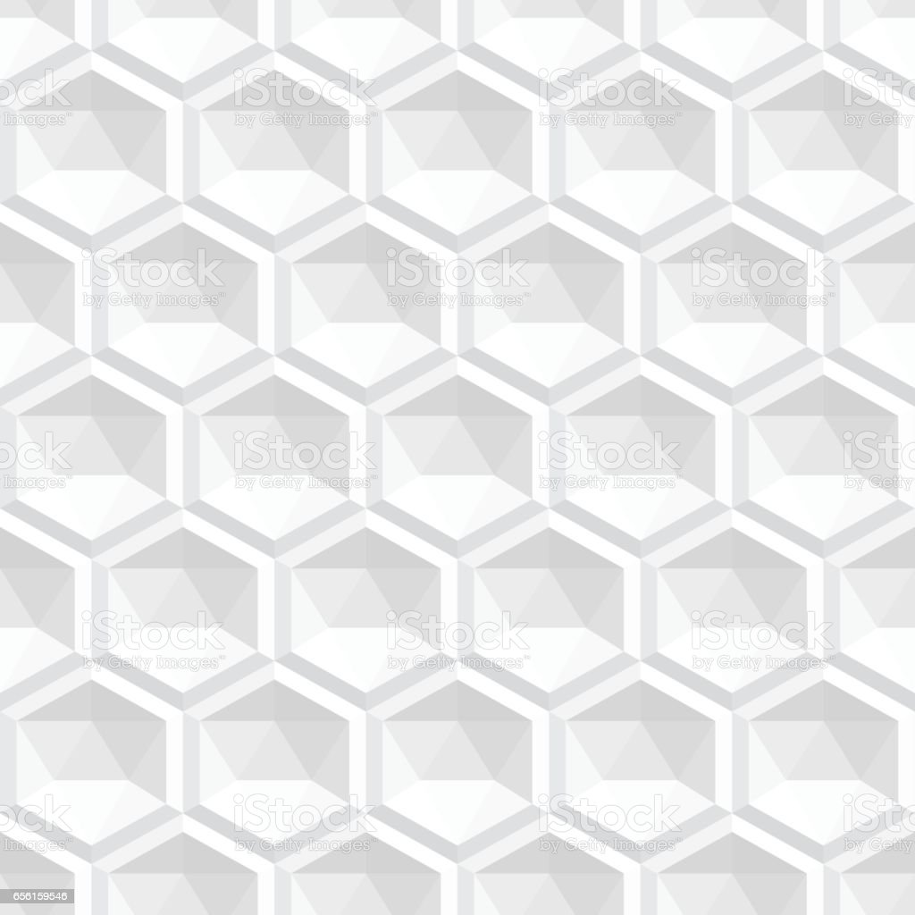 3d Texture Abstract White 3d Texture Seamless Stock Vector Art More Images