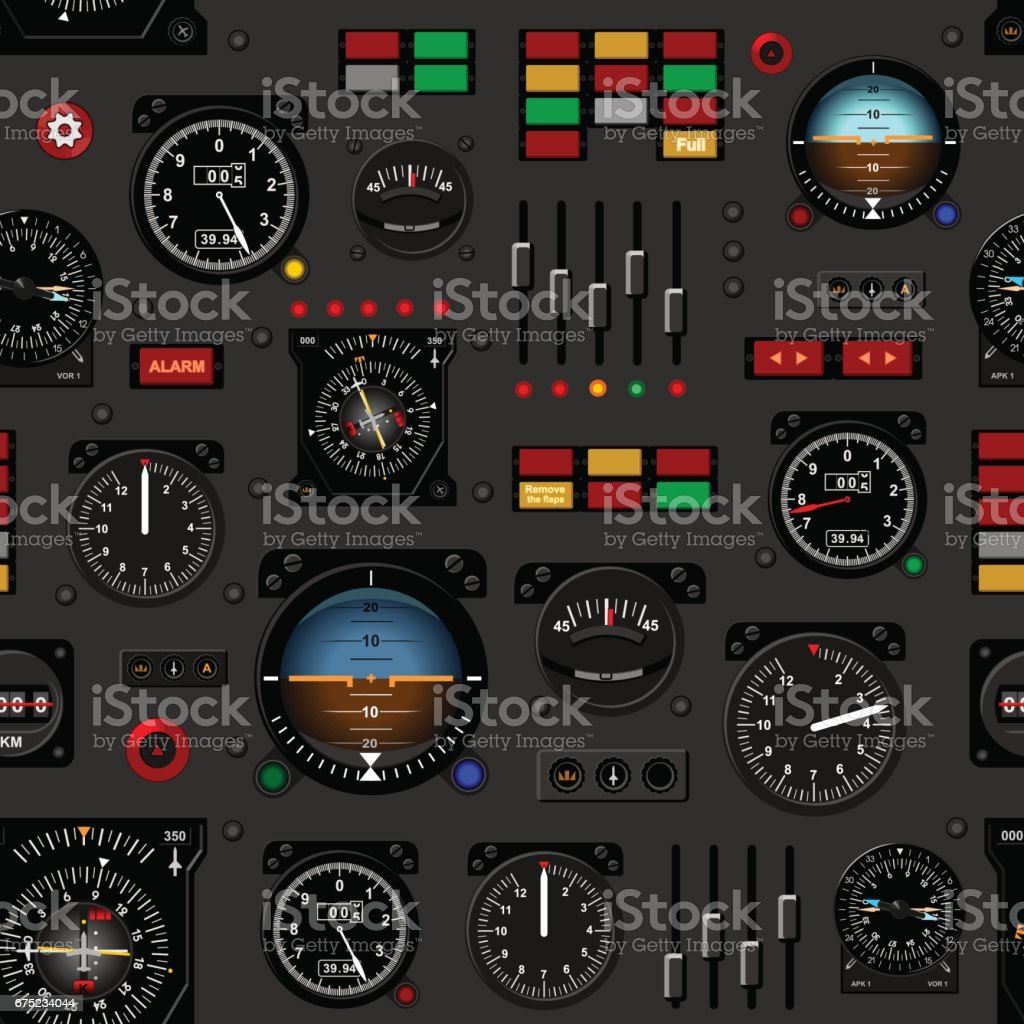 Commercial Pilot Wallpaper Hd Airplane Instrument Panel Aircraft Dashboard Creative
