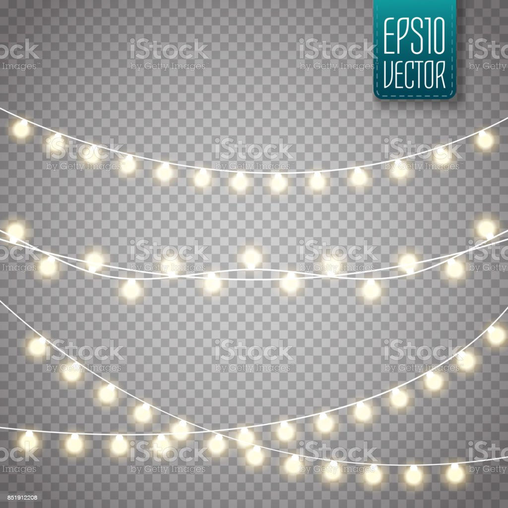 Best Christmas Lights Illustrations Royalty Free Vector